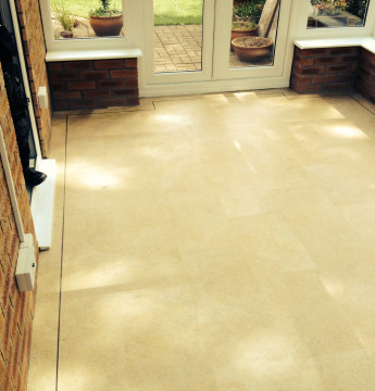 Karndean Knight tile Luxury vinyl tiles colour Yorkstone