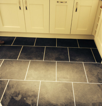 Karndean Opus Luxury vinyl tiles colour Nero